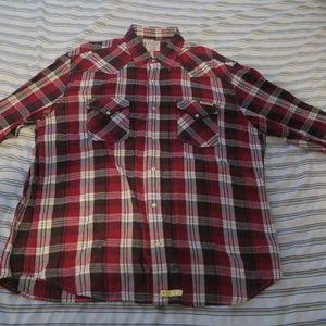 Lucky Brand Sportswear Western Pearl Snap LS Shirt